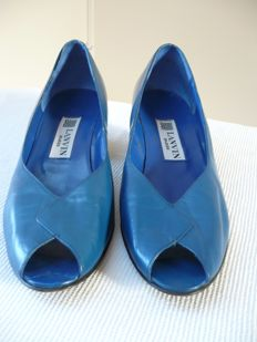 Lanvin – pair of old shoes (1980s).