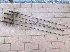 Lot of 4 fencing foils in good condition