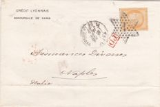 France 1876/1937 - Little selection plus 4 covers