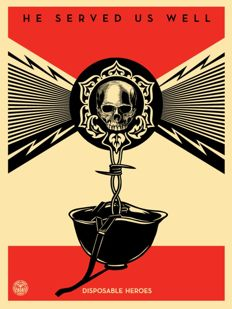 Shepard Fairey (OBEY) - Disposable Heroes