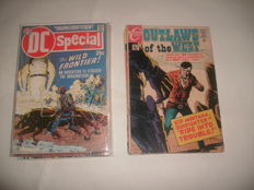 Collection Of DC / Charlton / Gold Key - Westerns Style Comics - Outlaws Of The West, Jonah Hex, Billy the Kid + More - 14x sc (1968/1979)