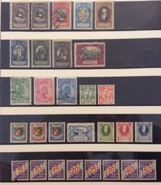 Liechtenstein 1912/1927 – Set of stamps – Michel 4 to 80