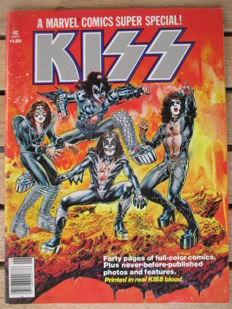 Marvel Comics - Super Special : KISS - Written And Produced By Steve Gerber - (1977)