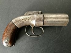 Manhattan Pepperbox pistol 6 shots 8 mm