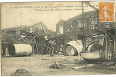 Around the war of 1914-1918, 99 old postcards including some drawings (between 1914 and 1920)