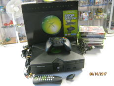 Boxed original Xbox including 10 games , controller and more