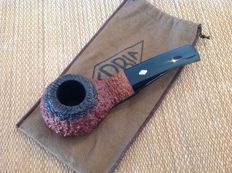 "Brebbia ""Gocce d'Oro"", rusticated briar pipe, great!!!"