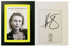 Maria Sharapova - Original Personally Signed Limited Edition Book