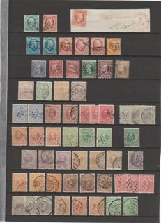 Netherlands 1852/1941 – Batch from classic