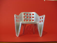 Manufacturer unknown – miniature chair after an original design by Gerrit Rietveld