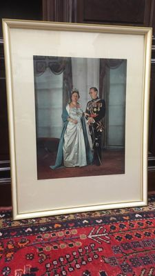 Max Koot - Formal Portrait of Queen Juliana and Prince Bernhard