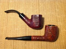 "Lot of two pipes: Brebbia ""Roma"" plus Barontini "" Pierre Cardin"", great!!!"