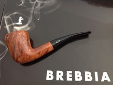 "Brebbia ""Straight Grain"" plus old Brebbia catalogue....Highest grade ""0"", beautiful grained briar, rare & collectable pipe!!!!"