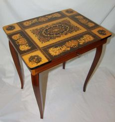 Music table / play box table - Italy - second half 20th century.