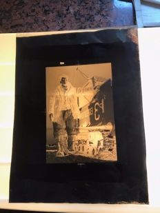 Glass negatives and various negatives - includes Castle Versailles Farm Expedition