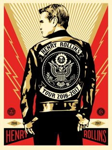Shepard Fairey (OBEY) - Henry Tollins Tour 2016