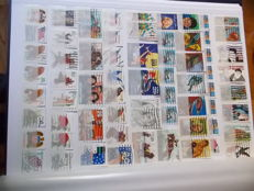 World – 1 binder of stamps and mini-sheets of the American continent, of Europe, of Northern countries, of African, of the Vatican