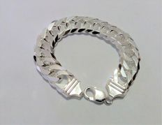 Bracelet made in Italy, in solid 925/1000 silver, 22 cm