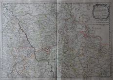 Germany, Kleve, Julich; Nicolas Sanson - Estats De la Succession de Cleves, et Juliers - 1656