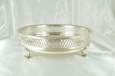 Sterling silver basket, European craftsmanship from the early 20th century