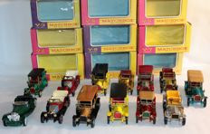 Lesney Matchbox - Scale 1/43-1/54 - Models of Yesteryear Y1 to Y12