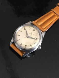 Omega Mens watch steel Manual wind early 50's