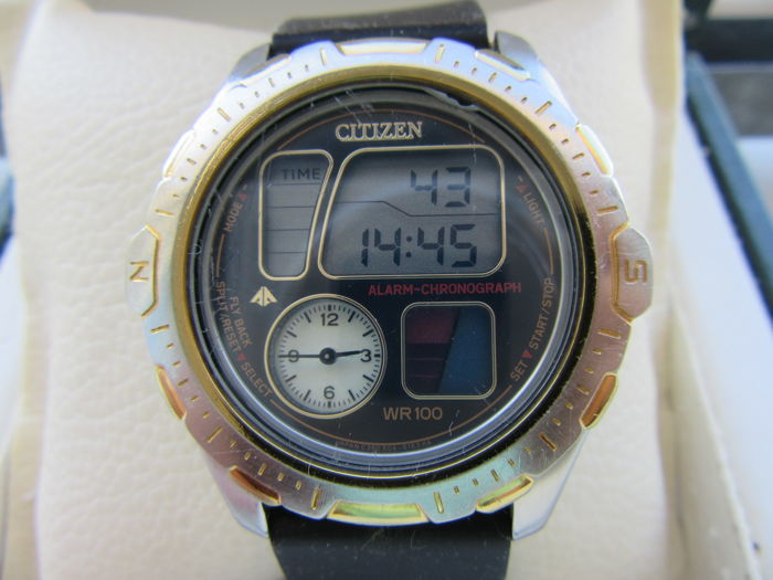 a42f4266d8a Citizen Windsurf analogue digital WR 100 Promaster Watch C350 - Men s -  1980-1989