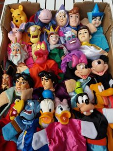 Puppet dolls Disney characters 24 items