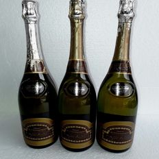 1970s  Veuve Clicquot Ponsardin, Marc de Champagne, France, 3 Bottles 75Cl, 42% Alcohol