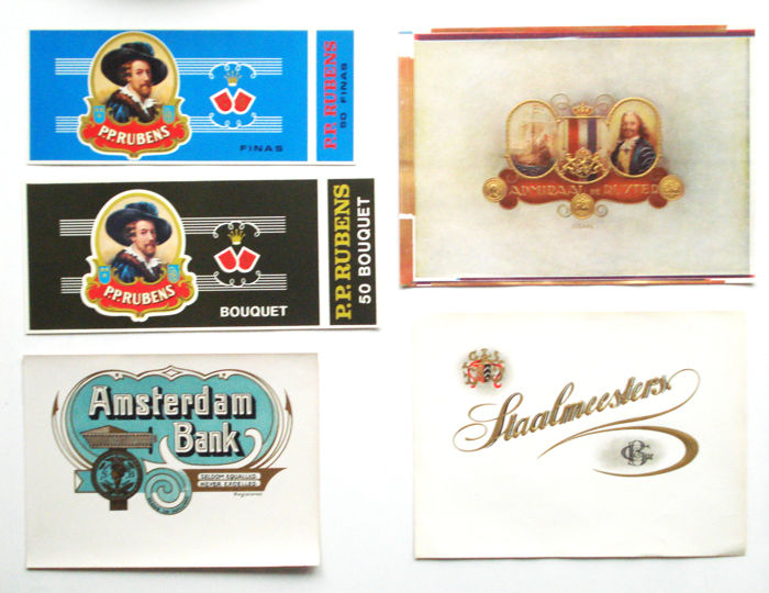 collection of 113 cigar box labels catawiki. Black Bedroom Furniture Sets. Home Design Ideas