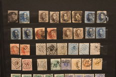 Belgium 1849/1999 – Collection including railways stamps and blocks in stock book + railways and blocks