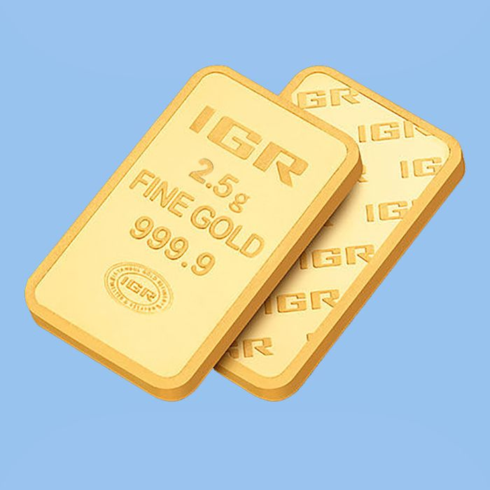 2,5 Gr Sealed Fine Bullion Gold Bar