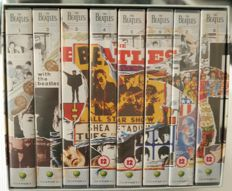 The Beatles Anthology VHS an 15 other Beatles VHS