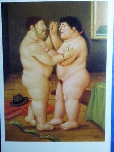 Exclusive art cards-Botero paintings – Excellent lot of 56 collection postcards