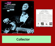 Grant Green ; Feelin'the spirit ; rare record Blue Note