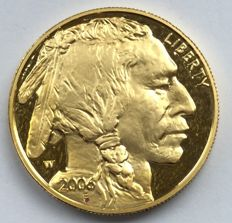 United States - 50 dollars 2006 'American Buffalo' - 1 oz gold