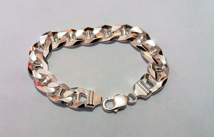 Bracelet, made in Italy, in solid silver 925/1000