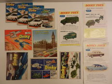 Dinky Toys - 8 Catalogi and 3 Flyers 1958 to 1978.