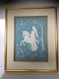 The Lady and the Unicorn by Gerorge McMonigle
