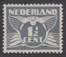 The Netherlands 1935 - Flying dove, variation without watermark - NVPH 172Ba