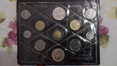 Republic of Italy - Divisional Series of coins from 1988 'Don Bosco' (including silver)