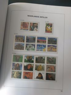 Dutch Antilles and Aruba 1986/2006 - Collection in Davo LX album with storage box