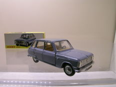 Dinky Toys-ES - Scale 1/43 - Renault 6 Sedan Blue/Grey - No.1453