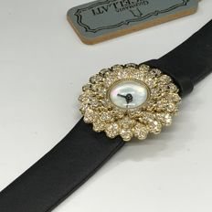 Buccellati 18K Yellow Gold Ladies diamond watch