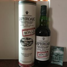 Laphroaig 10 years old Cask Strength Batch 002