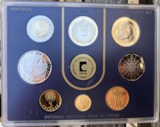 Portugal - Republic - PROOF SET - Coins from 1998 - INCM - FDC