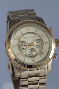 Michael Kors MK 8077 chronograph – men's wristwatch – never worn