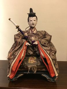 "Ningyo pop ""Emperor"" - Japan - around 1900 (Meiji period)"