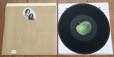 John Lennon & Yoko Ono- Unfinished Music No. 1. Two Virgins lp/ Rare US pressing w. nude cover & brown paper bag/ VG+/VG++