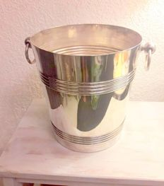 Silver plated champagne bucket, Gallia for Christofle